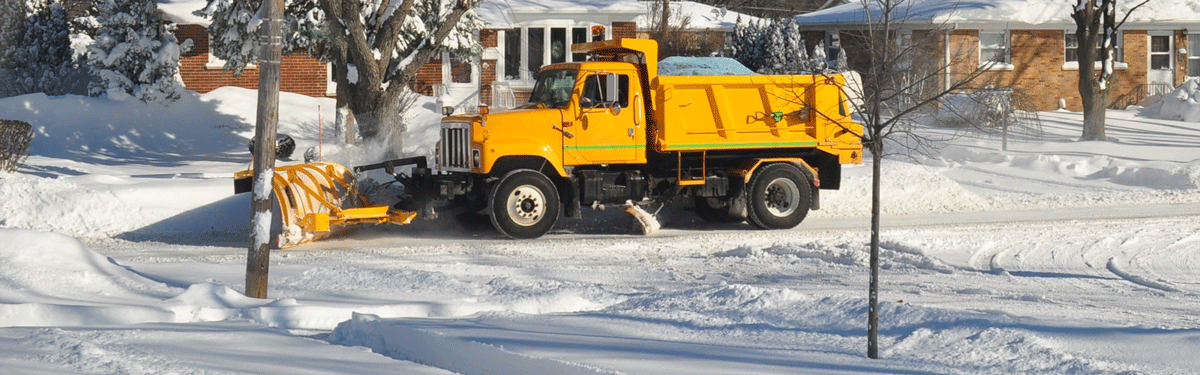 Keeping the streets clear of snow